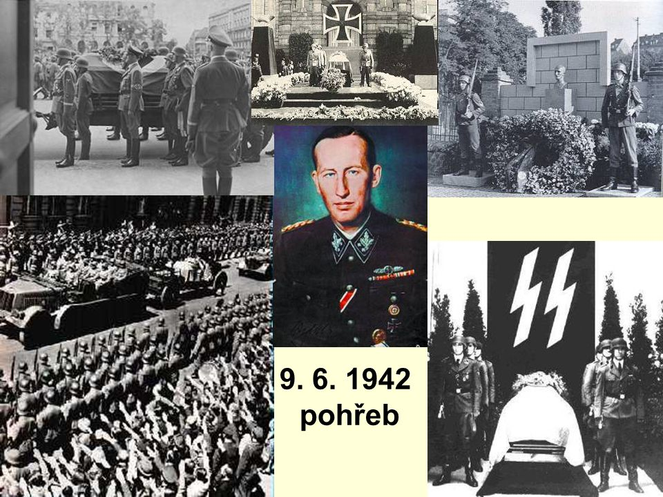 9. 6. 1942 pohřeb