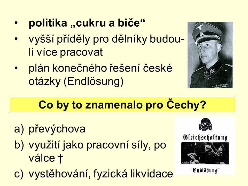 Co by to znamenalo pro Čechy