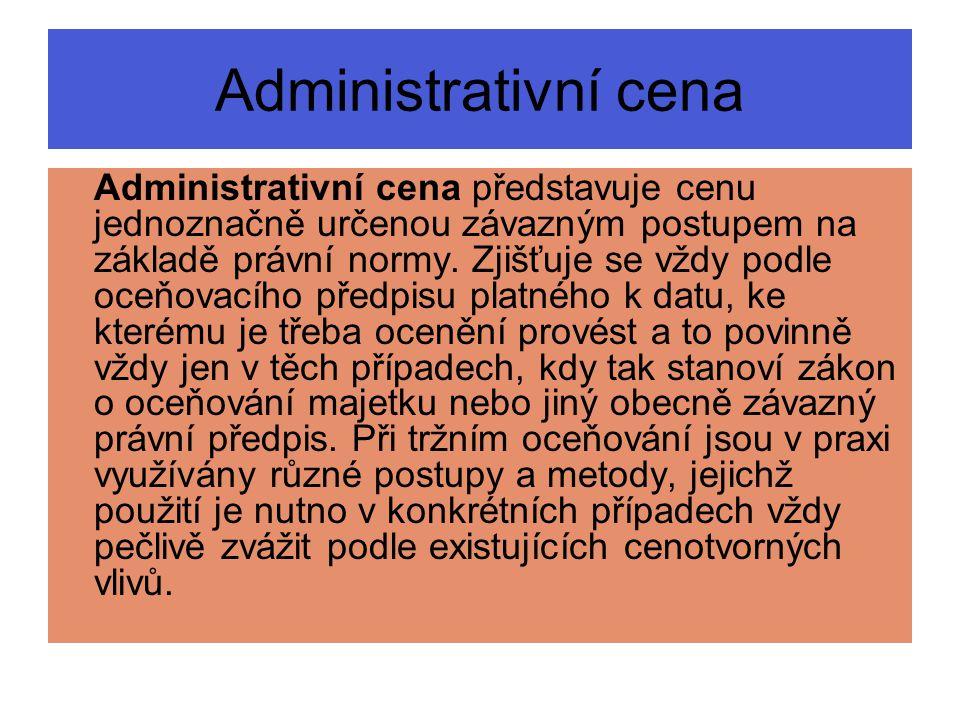 Administrativní cena