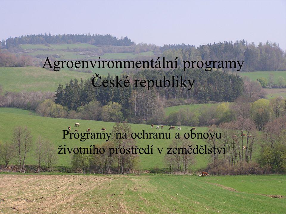 Agroenvironmentální programy České republiky