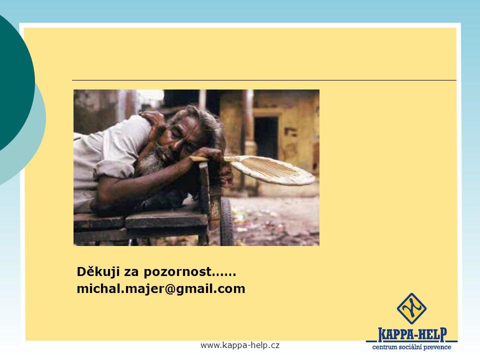 Děkuji za pozornost…… michal.majer@gmail.com www.kappa-help.cz