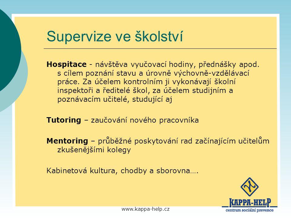 Supervize ve školství