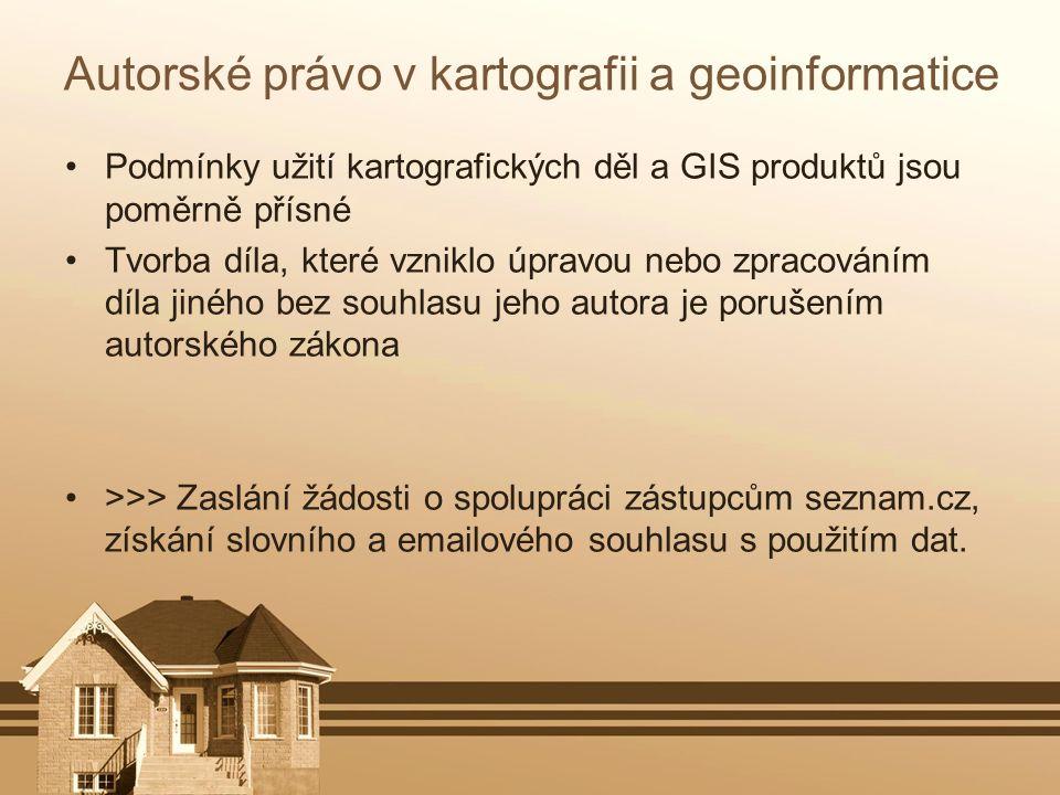 Autorské právo v kartografii a geoinformatice