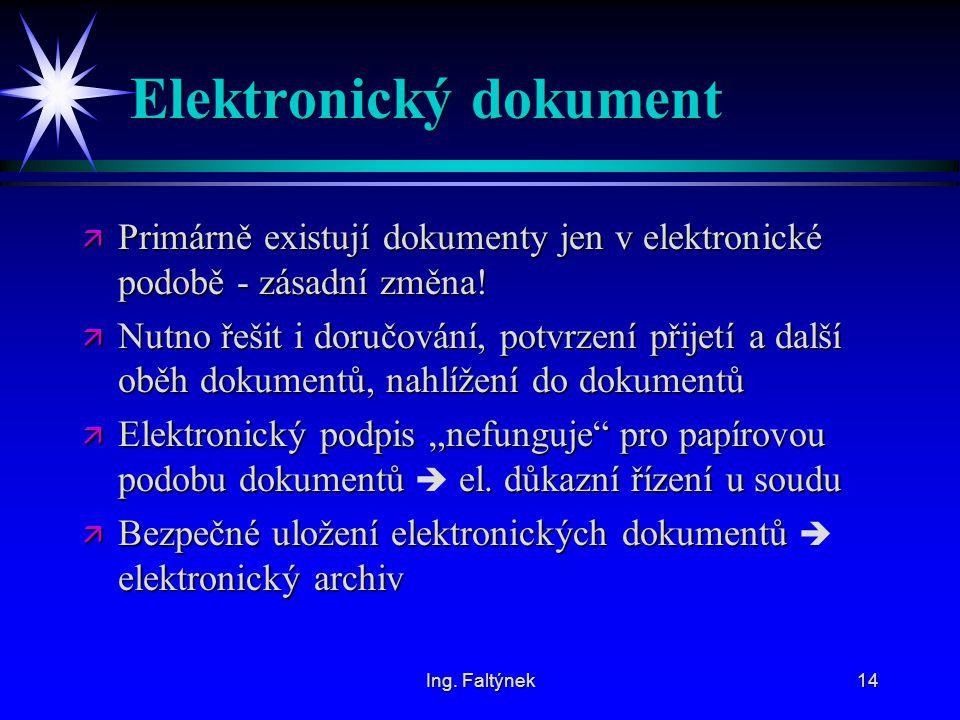 Elektronický dokument