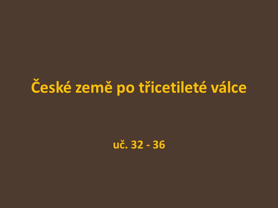 České země po třicetileté válce