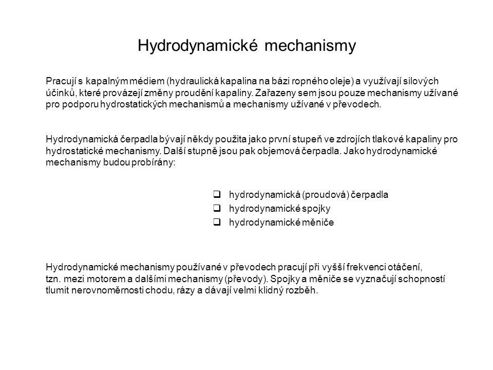 Hydrodynamické mechanismy