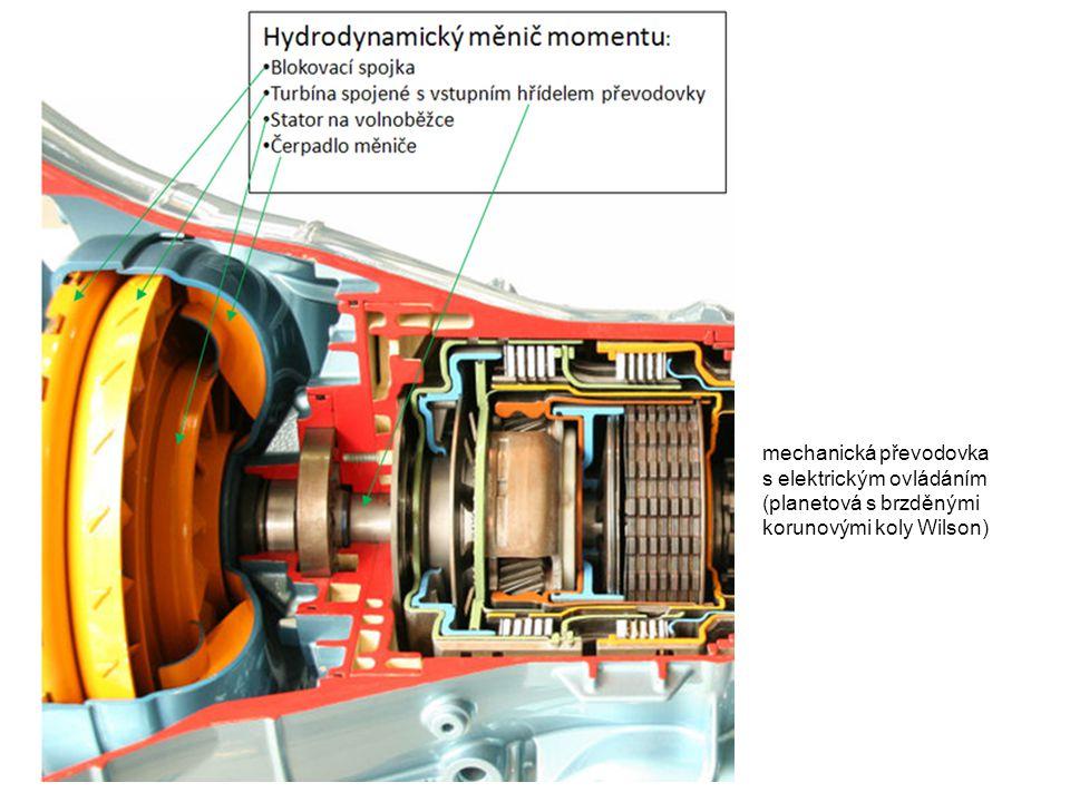 mechanická převodovka