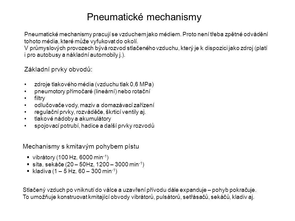 Pneumatické mechanismy