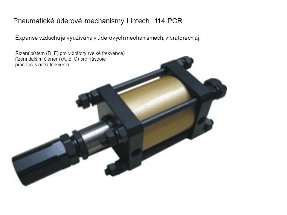Pneumatické úderové mechanismy Lintech 114 PCR