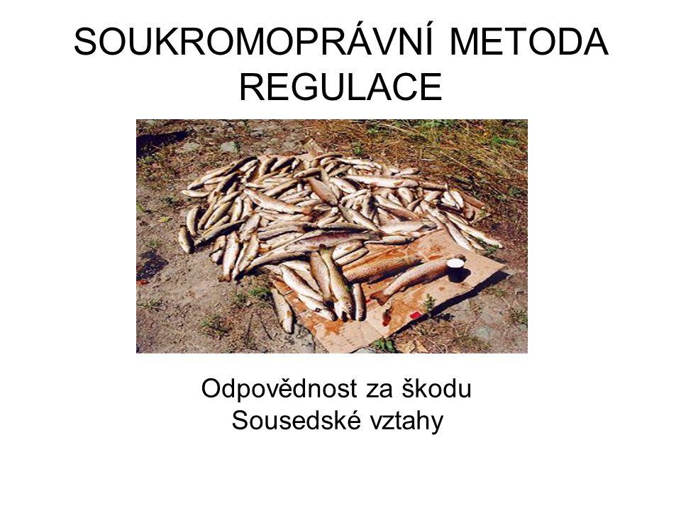 SOUKROMOPRÁVNÍ METODA REGULACE