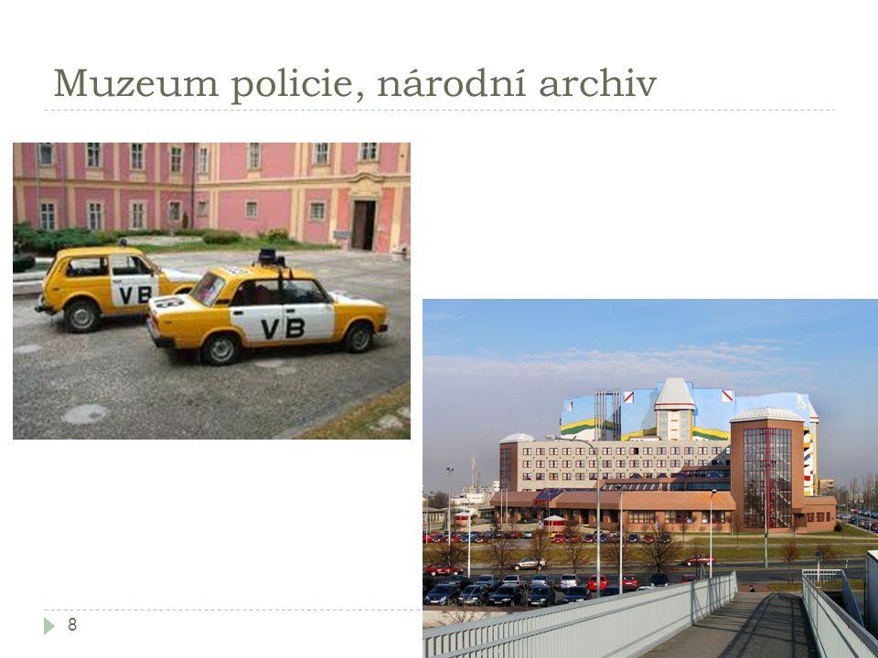 Muzeum policie, národní archiv