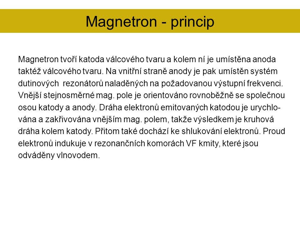 Magnetron - princip
