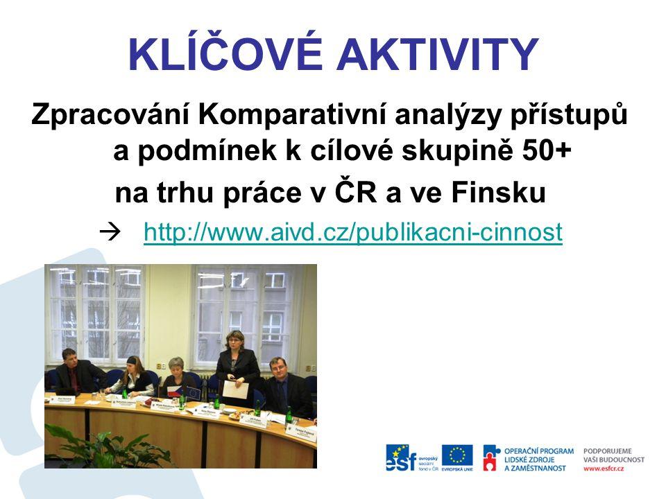 na trhu práce v ČR a ve Finsku