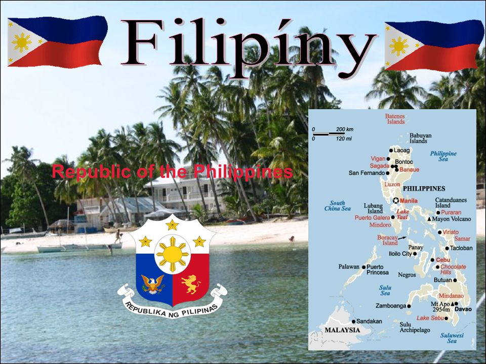 Filipíny Republic of the Philippines