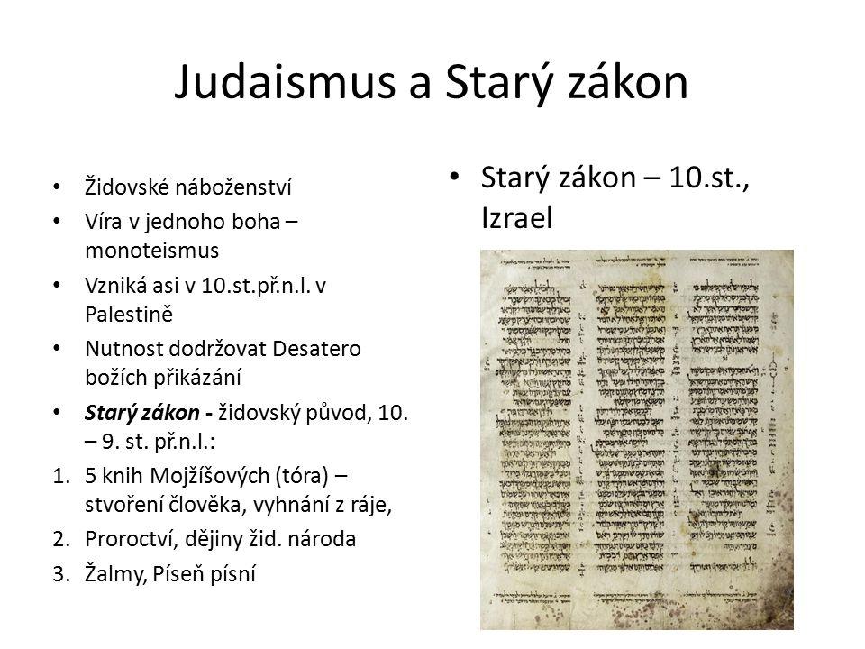 Judaismus a Starý zákon