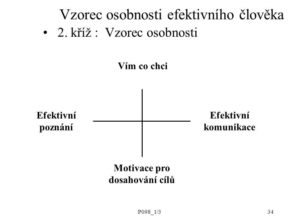 Vzorec osobnosti efektivního člověka