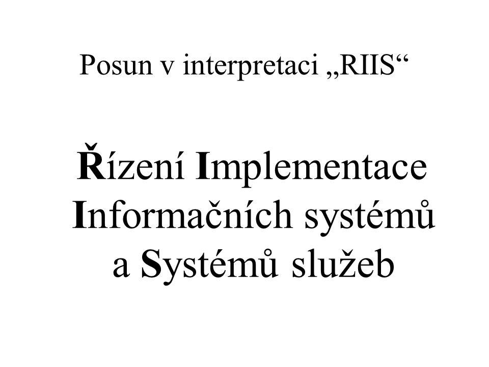 "Posun v interpretaci ""RIIS"