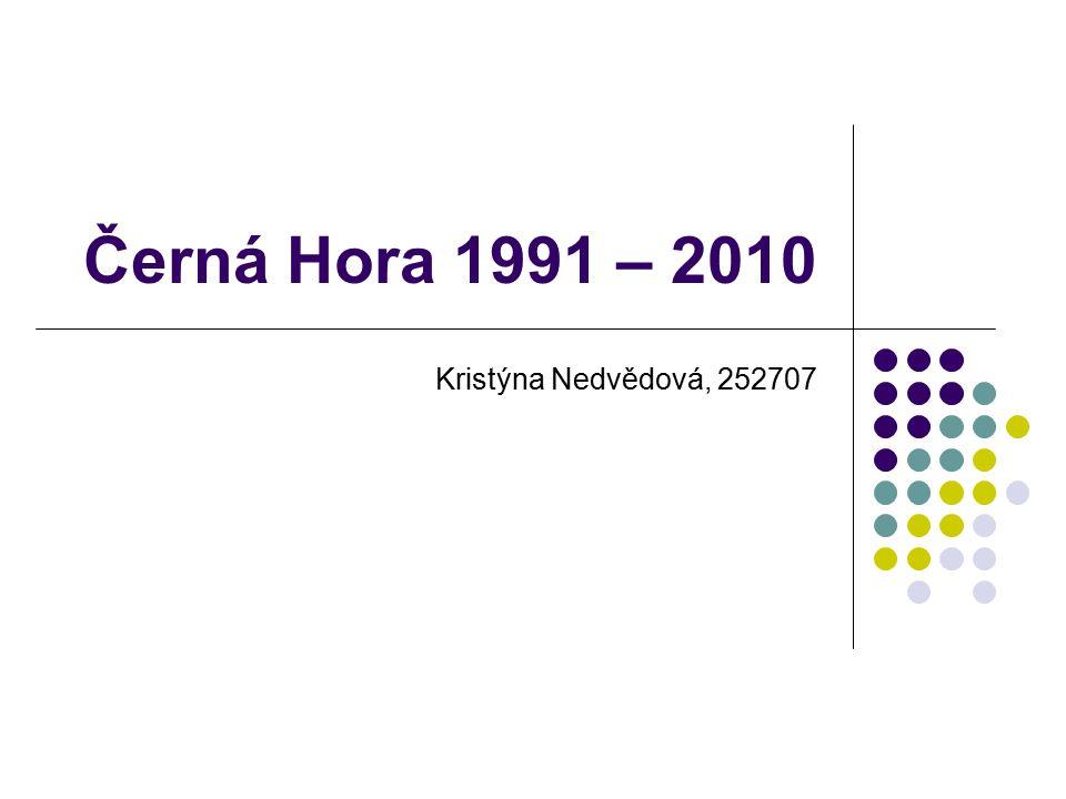 Černá Hora 1991 – 2010 Kristýna Nedvědová, 252707