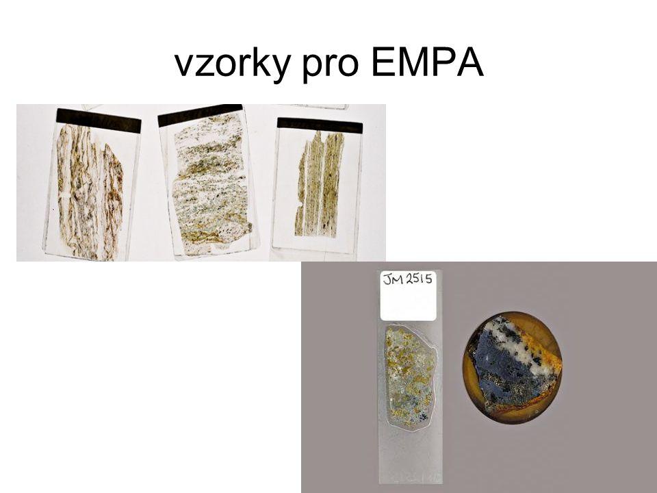 vzorky pro EMPA