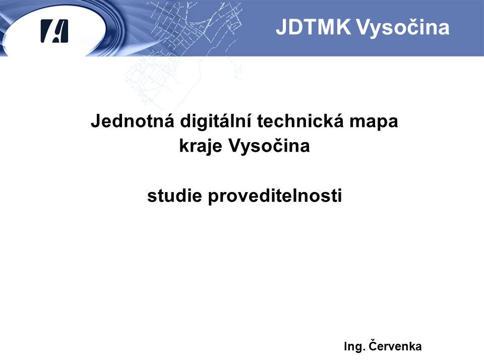 Jednotná digitální technická mapa studie proveditelnosti