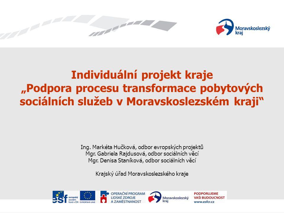 Individuální projekt kraje