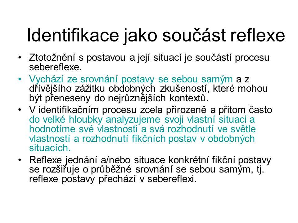 Identifikace jako součást reflexe