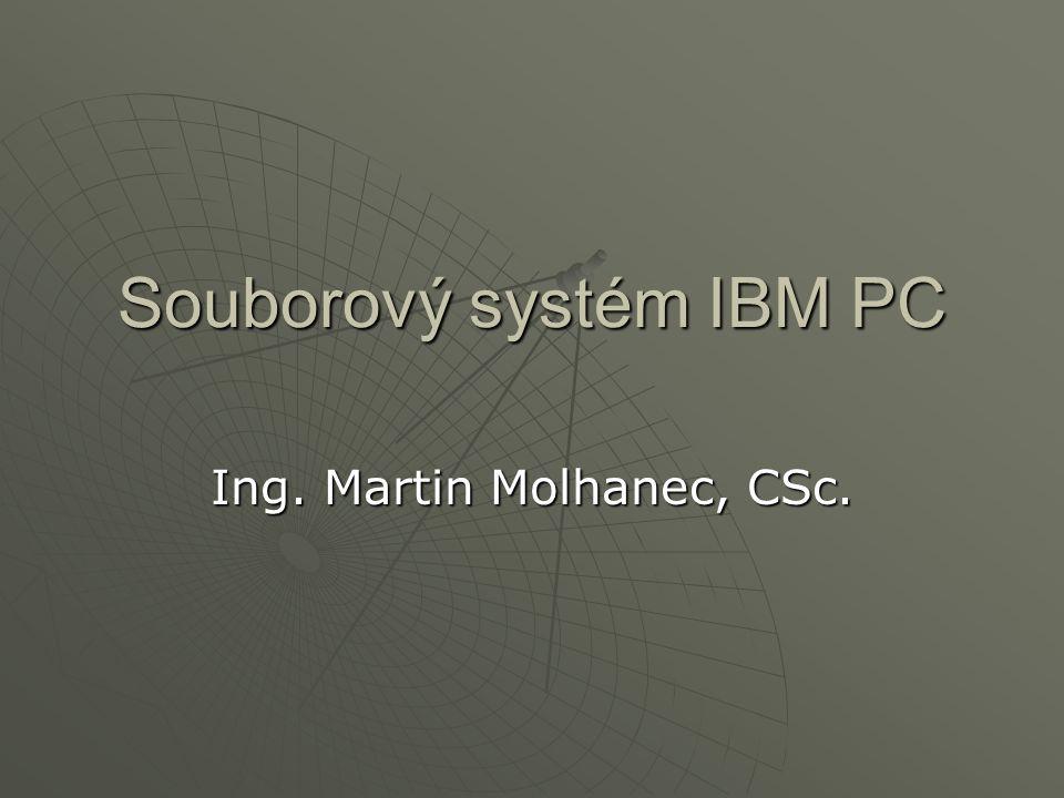 Souborový systém IBM PC