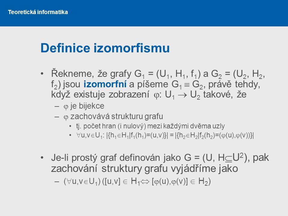 Definice izomorfismu