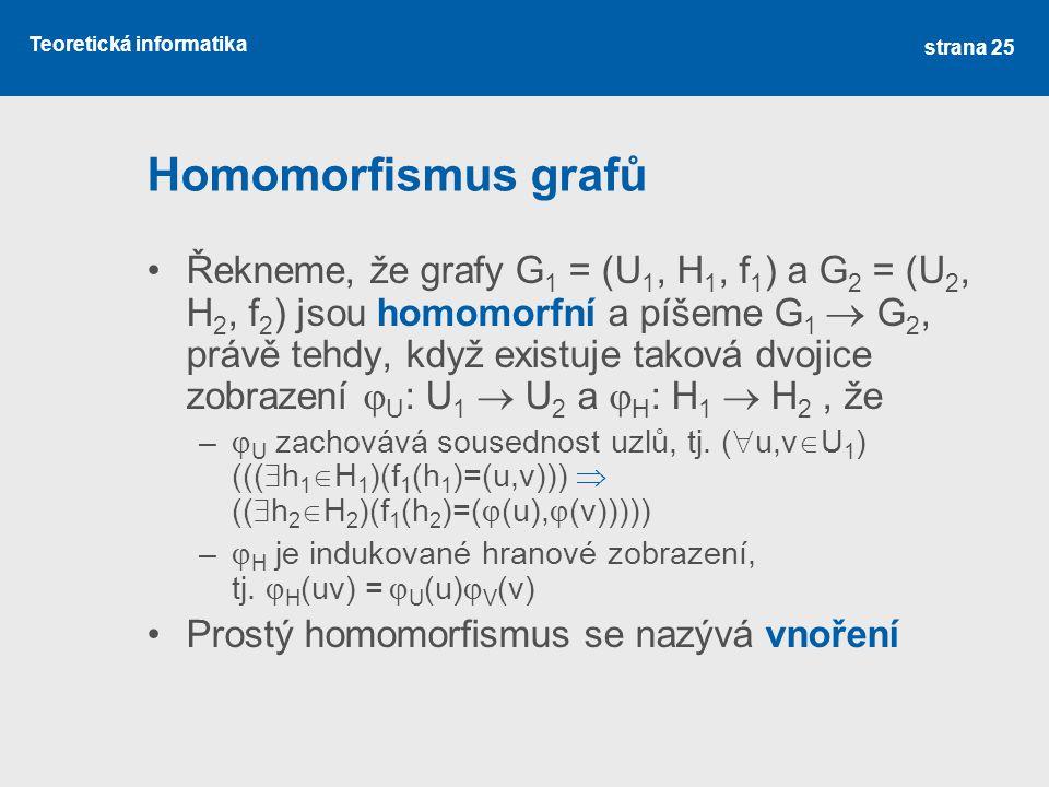 Homomorfismus grafů