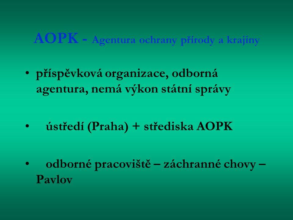AOPK - Agentura ochrany přírody a krajiny