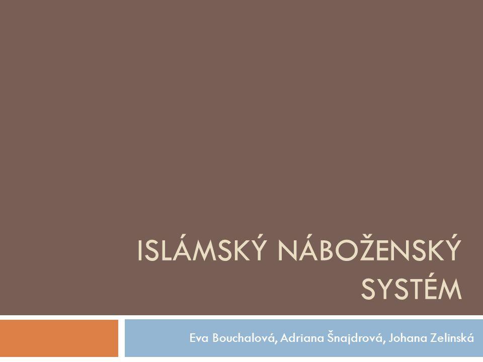ISLÁMSKÝ NÁBOŽENSKÝ SYSTÉM