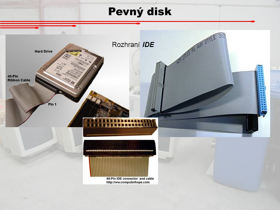 Pevný disk Rozhraní IDE