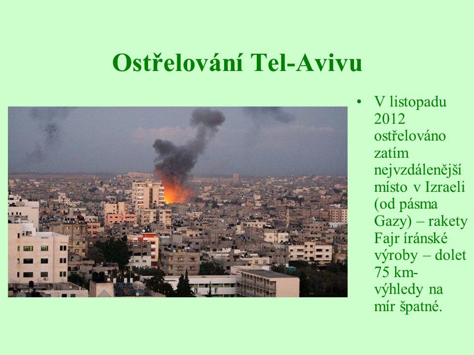 Ostřelování Tel-Avivu