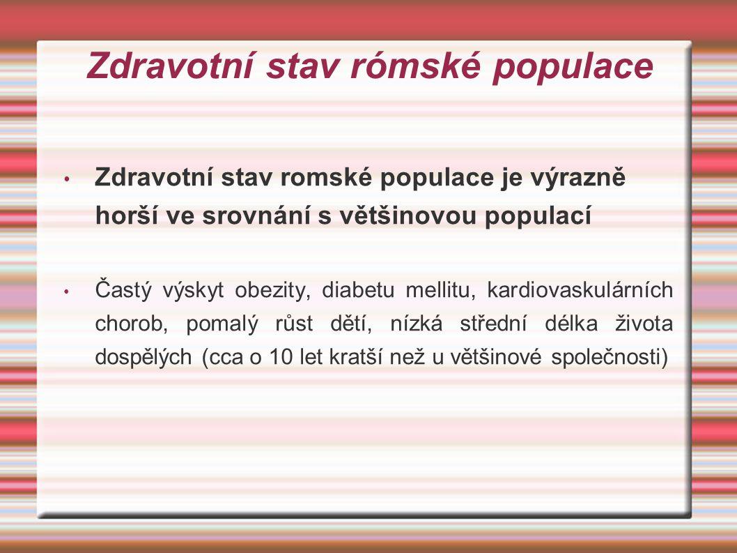 Zdravotní stav rómské populace