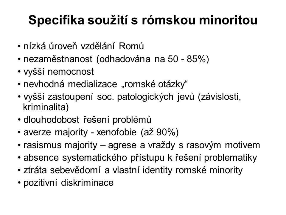 Specifika soužití s rómskou minoritou