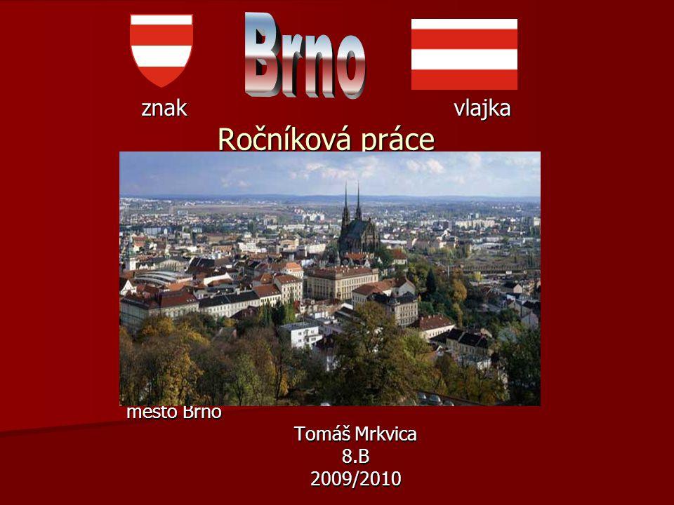 znak vlajka Ročníková práce