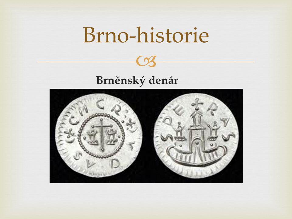 Brno-historie Brněnský denár