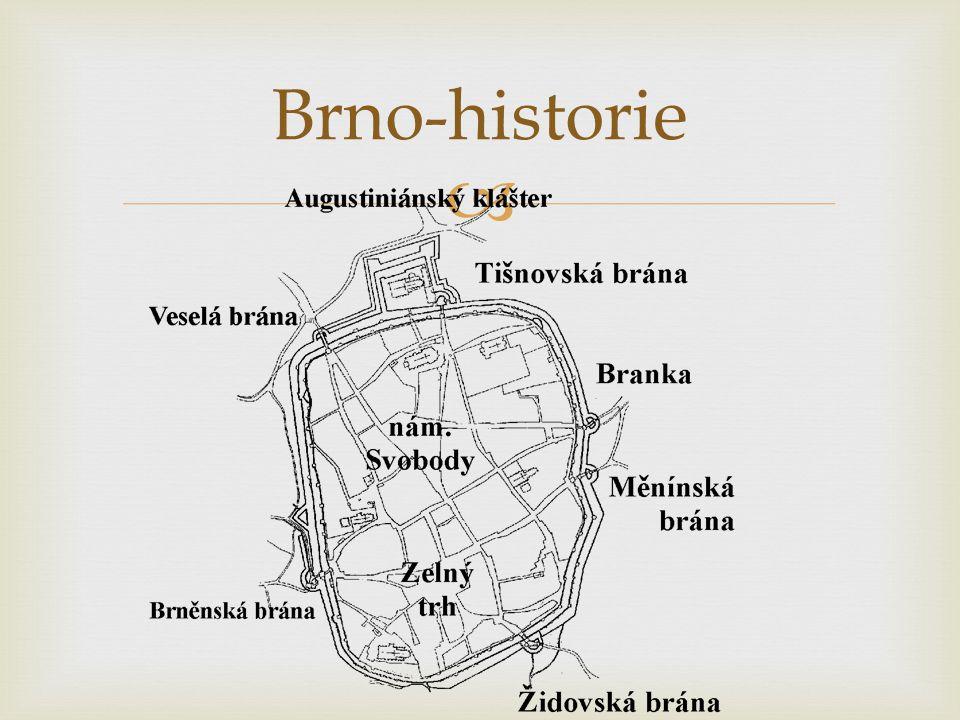Brno-historie