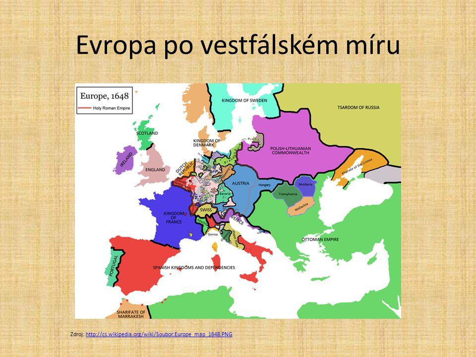 Evropa po vestfálském míru