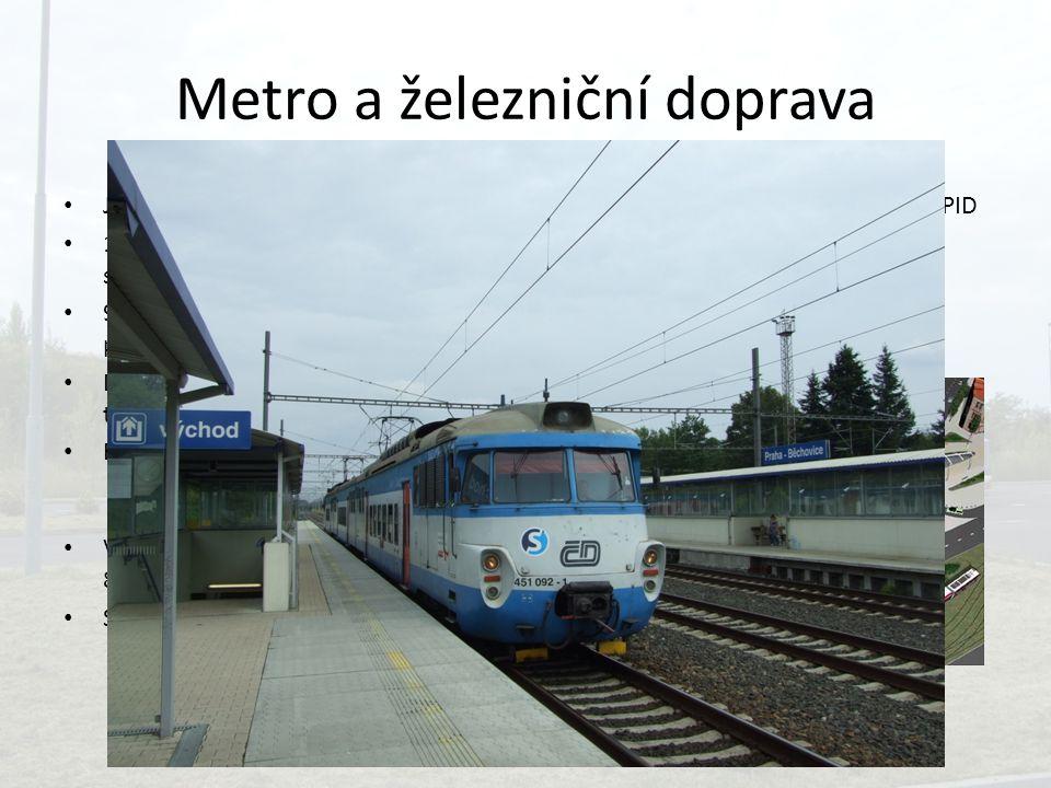 Metro a železniční doprava