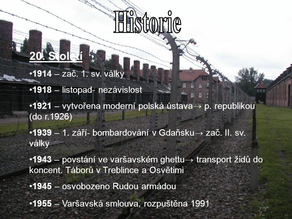 Historie 20. Století 1914 – zač. 1. sv. války