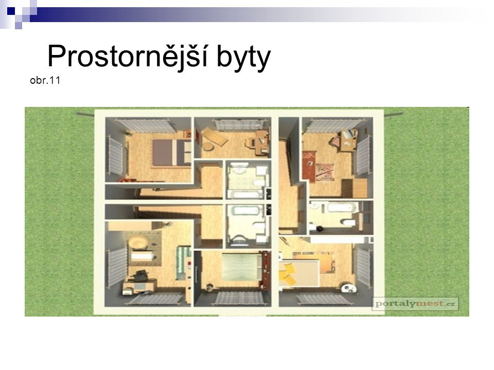 Prostornější byty obr.11