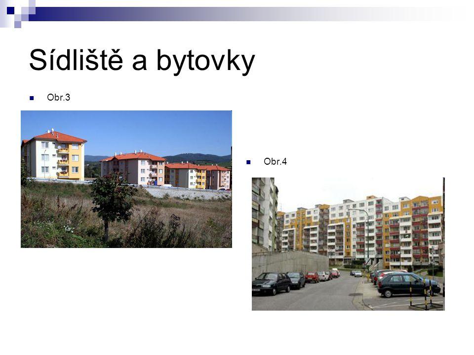 Sídliště a bytovky Obr.3 Obr.4