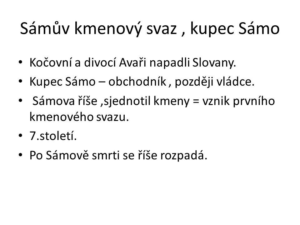 Sámův kmenový svaz , kupec Sámo