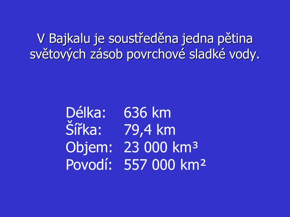 Délka: 636 km Šířka: 79,4 km Objem: 23 000 km³ Povodí: 557 000 km²
