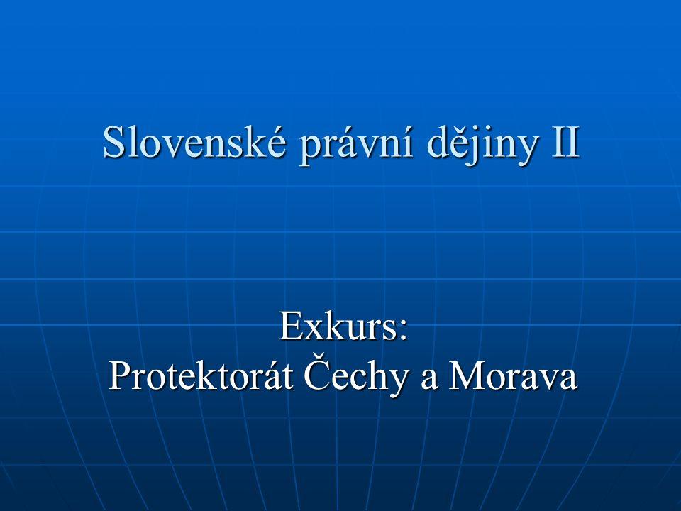 Slovenské právní dějiny II