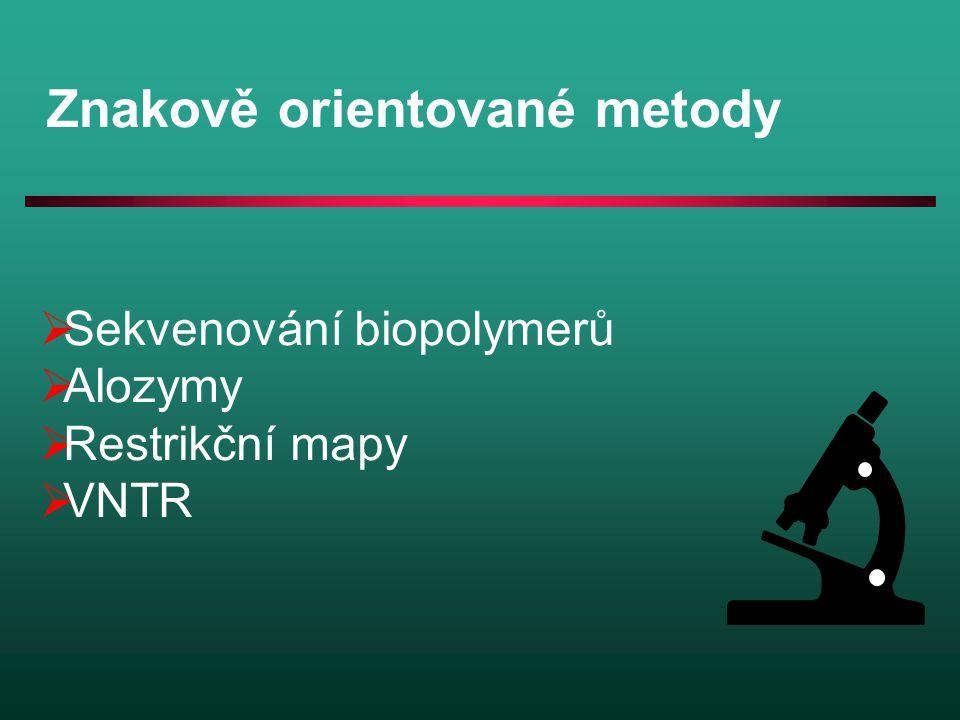 Znakově orientované metody