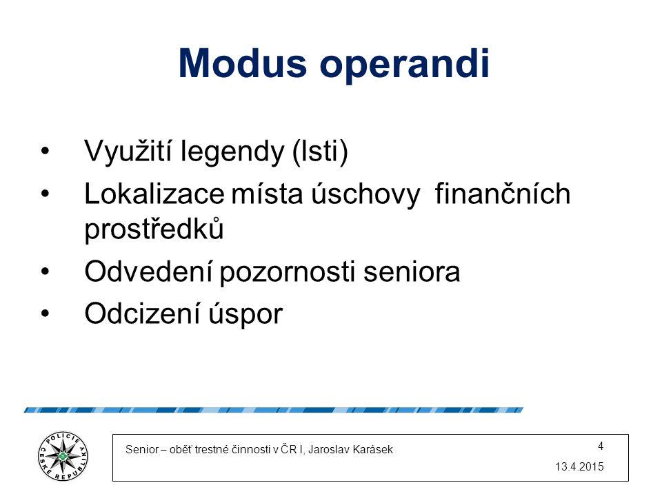 Modus operandi Využití legendy (lsti)