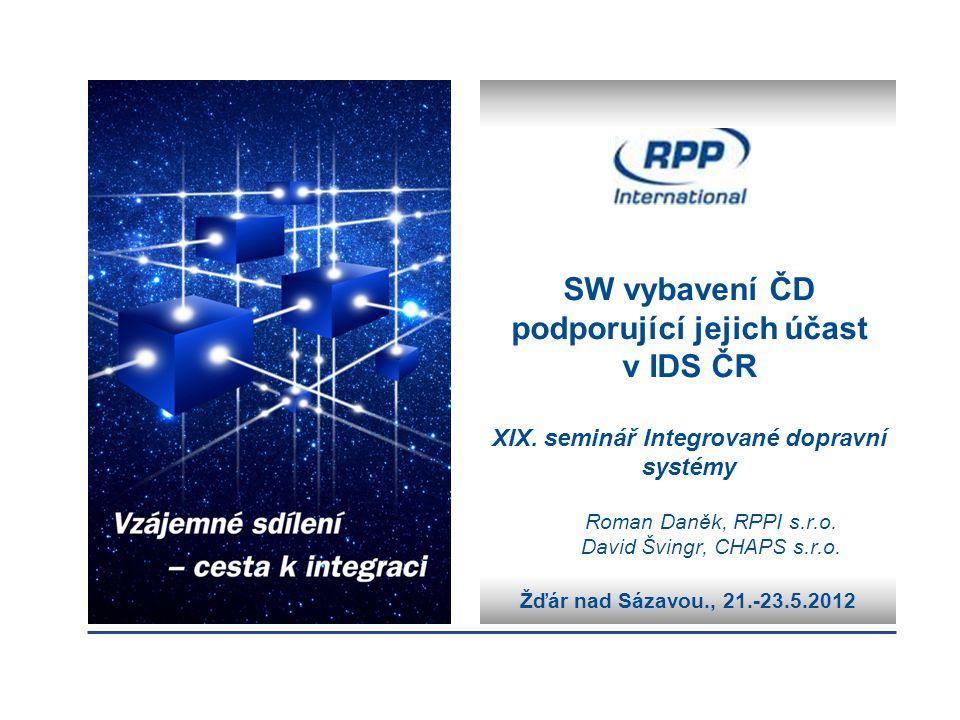 Roman Daněk, RPPI s.r.o. David Švingr, CHAPS s.r.o.
