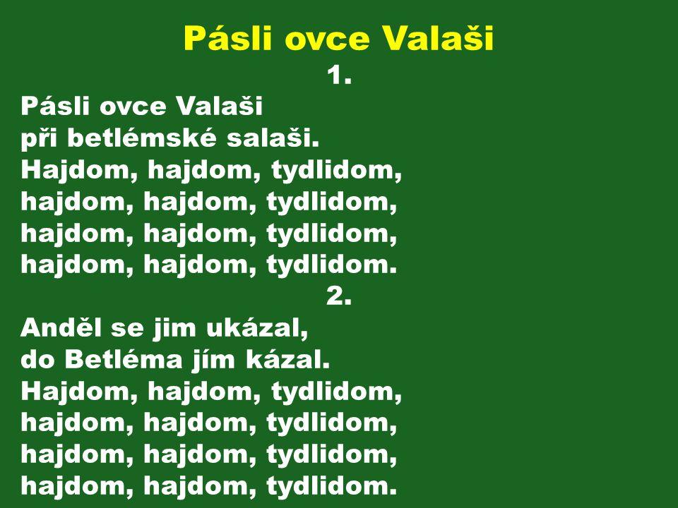 Pásli ovce Valaši 1.